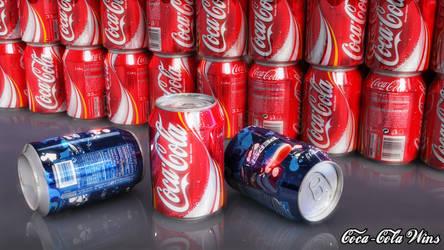 Coca-Cola vs Pepsi by xQUATROx