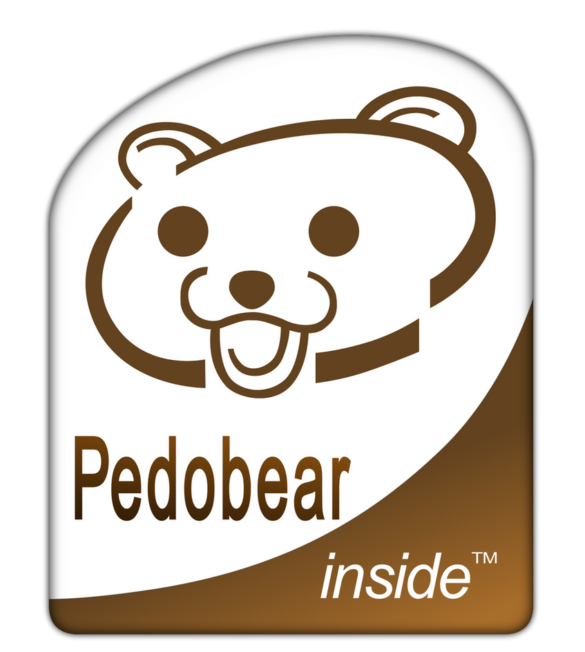 Feature: Pedobear by Aquarior on DeviantArt