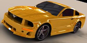 3D Mustang WIP by xQUATROx