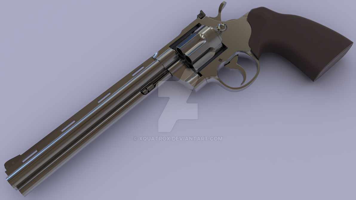 Colt Python by xQUATROx on DeviantArt