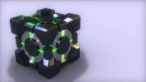 Evil Companion Cube by xQUATROx
