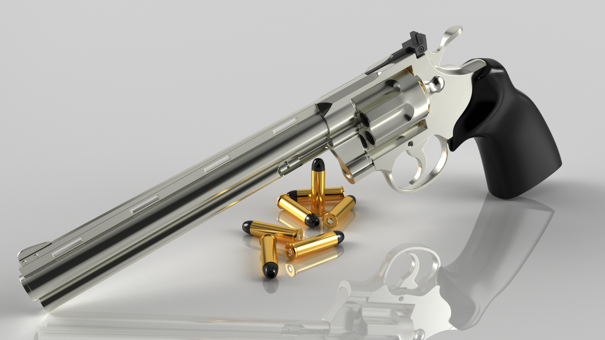 Colt Python iRay by xQUATROx