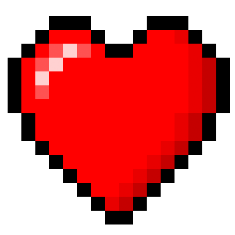 8bit heart stock by xquatrox on deviantart