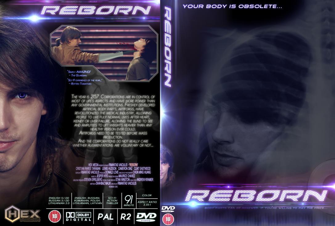 DVD Cover design - REBORN by xQUATROx on DeviantArt