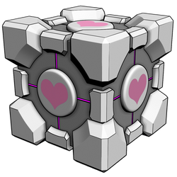 Toon Companion Cube Stock