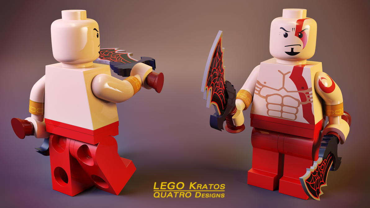 God of LEGO by xQUATROx