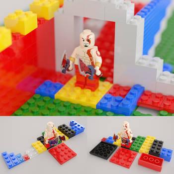 LEGO Kratos and random blocks