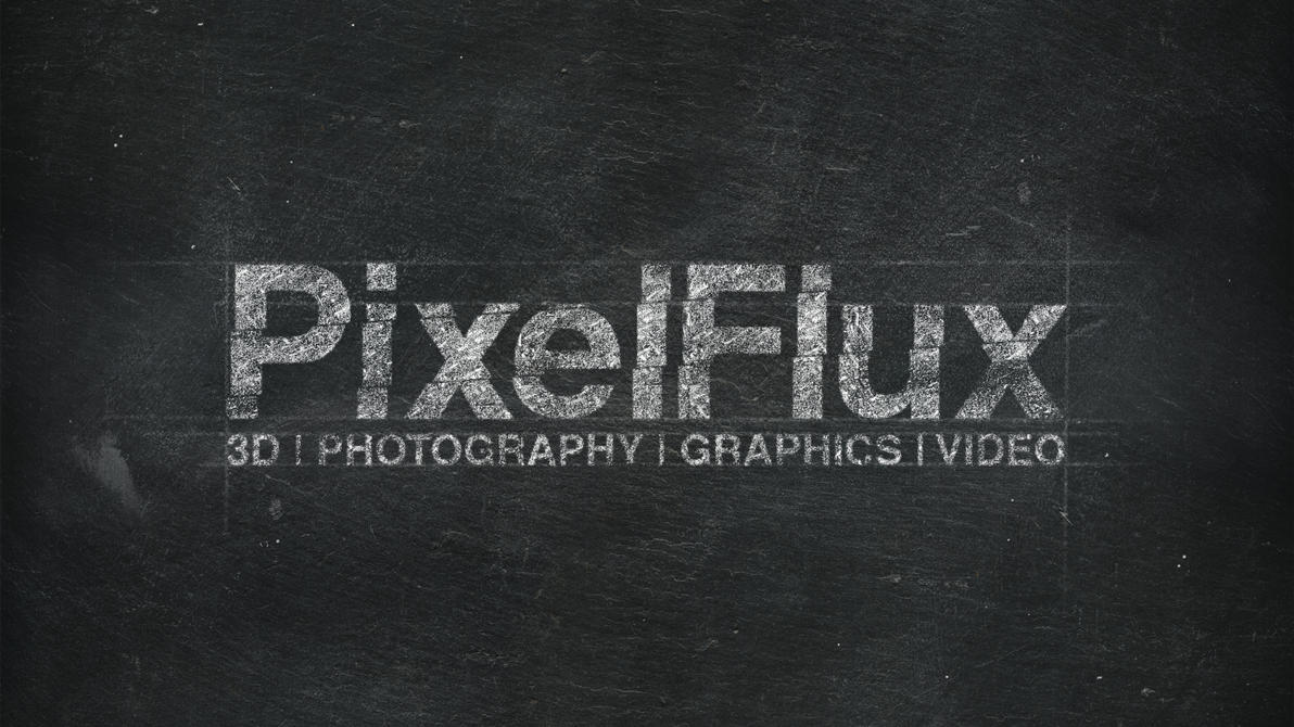 Chalk Logo Effect - PixelFlux by xQUATROx