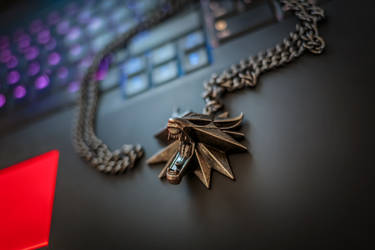 Witcher's Wolf Medallion