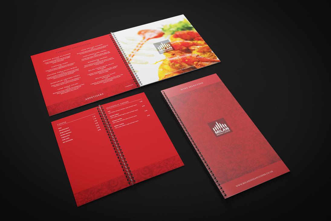 Restaurant Menus by xQUATROx