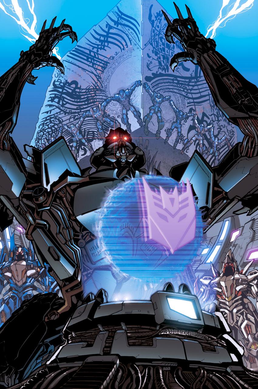 Reign of Starscream 4 cover