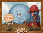 Flapjack and friends Adventure