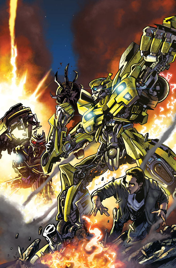 TotF 1 Bumblebee Cover by dyemooch