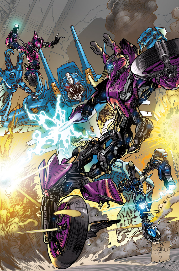 TotF 6 Arcee Cover by dyemooch