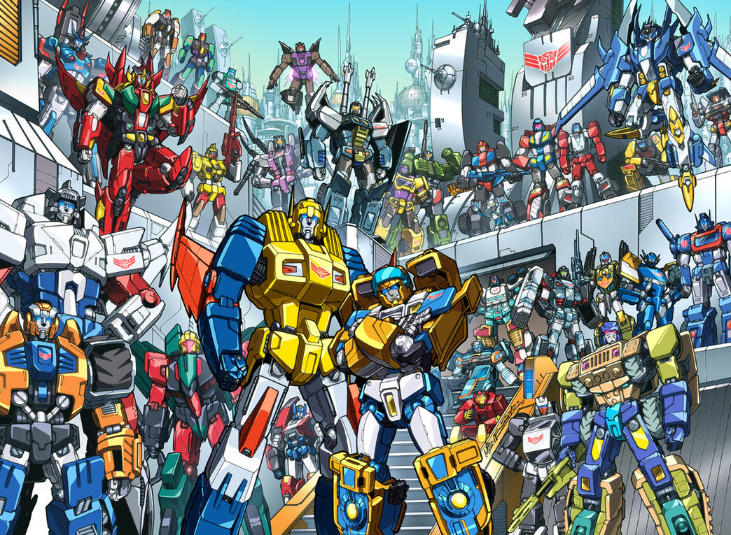 Botcon 2010 Litho LIW edition by dyemooch
