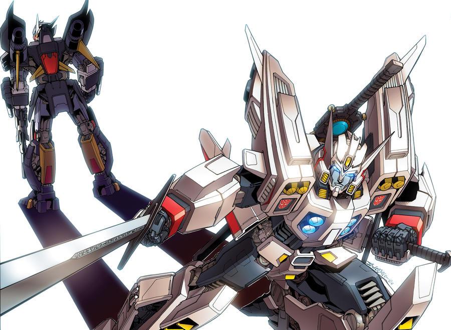 Transformers drift trade cover by dyemooch on deviantart