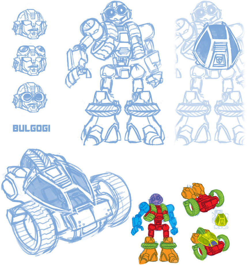 TF Bulgogi oc donut steel by dyemooch