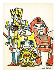 TF Pizza Party Print Botcon 2012