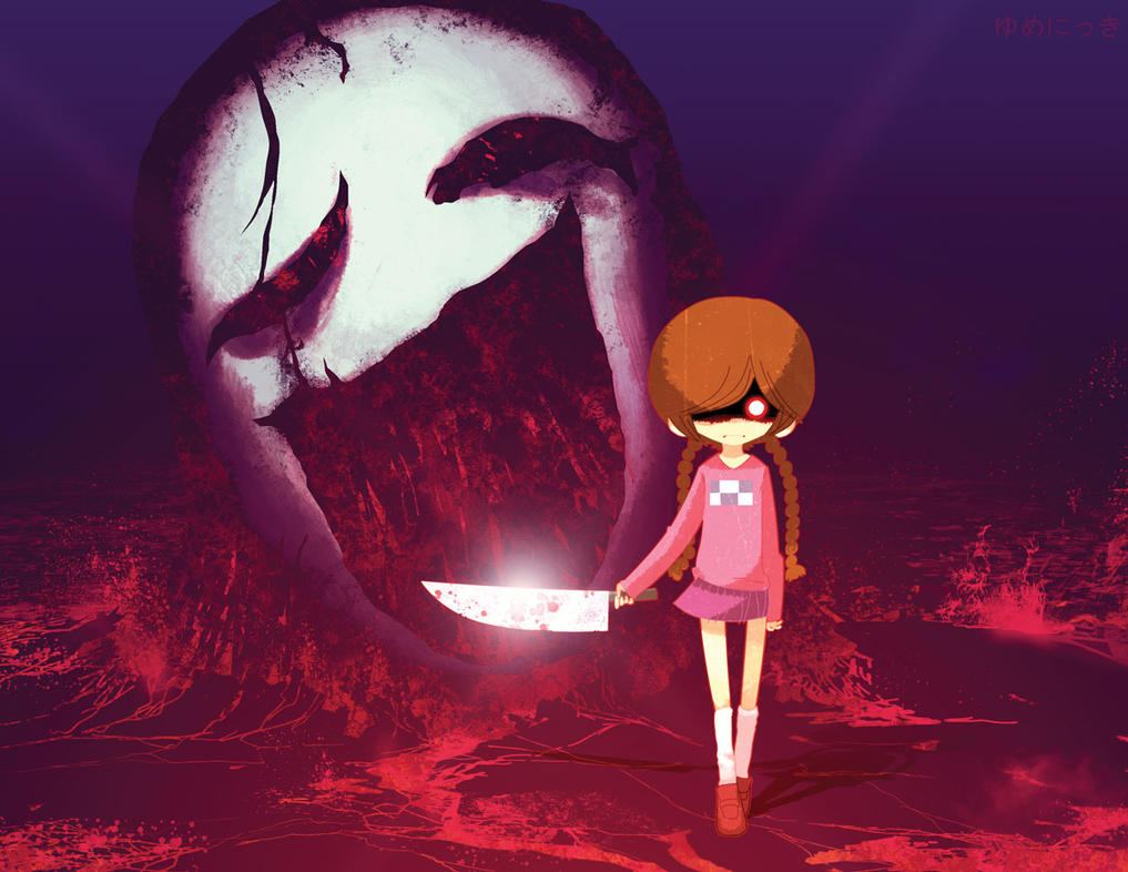 Yume Nikki Sketch by dyemooch