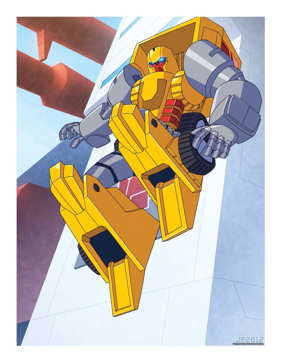 TFcon's Shafter by dyemooch