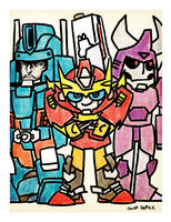 MtMtE Pizza Party Print by dyemooch