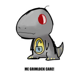 DM TF CareBears Grimlock by dyemooch