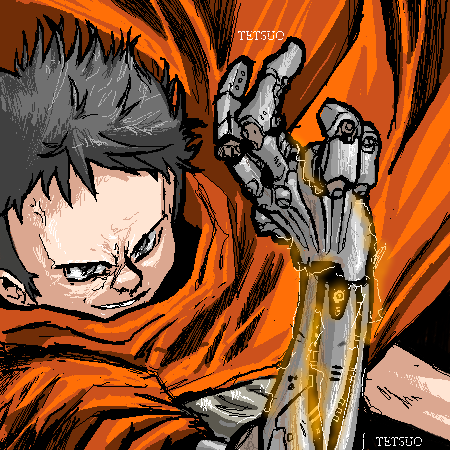 Another Tetsuo pic from DM by dyemooch