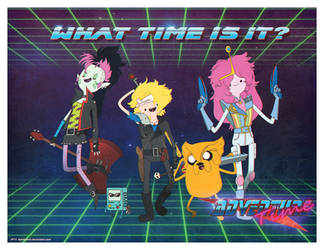 Retrodventure Time! by dyemooch