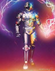 Metaldaftpunk by dyemooch