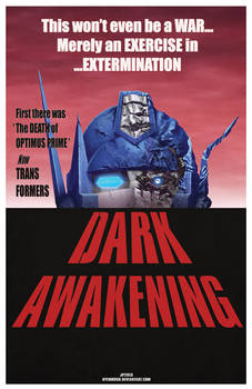Dark Awakening TFcon 2013 print