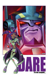 DARE to be stupid by dyemooch