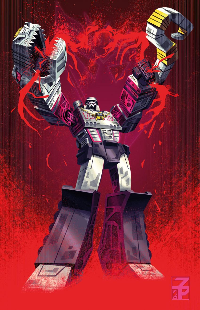 Transformers vs G.I.Joe Megatron by dyemooch