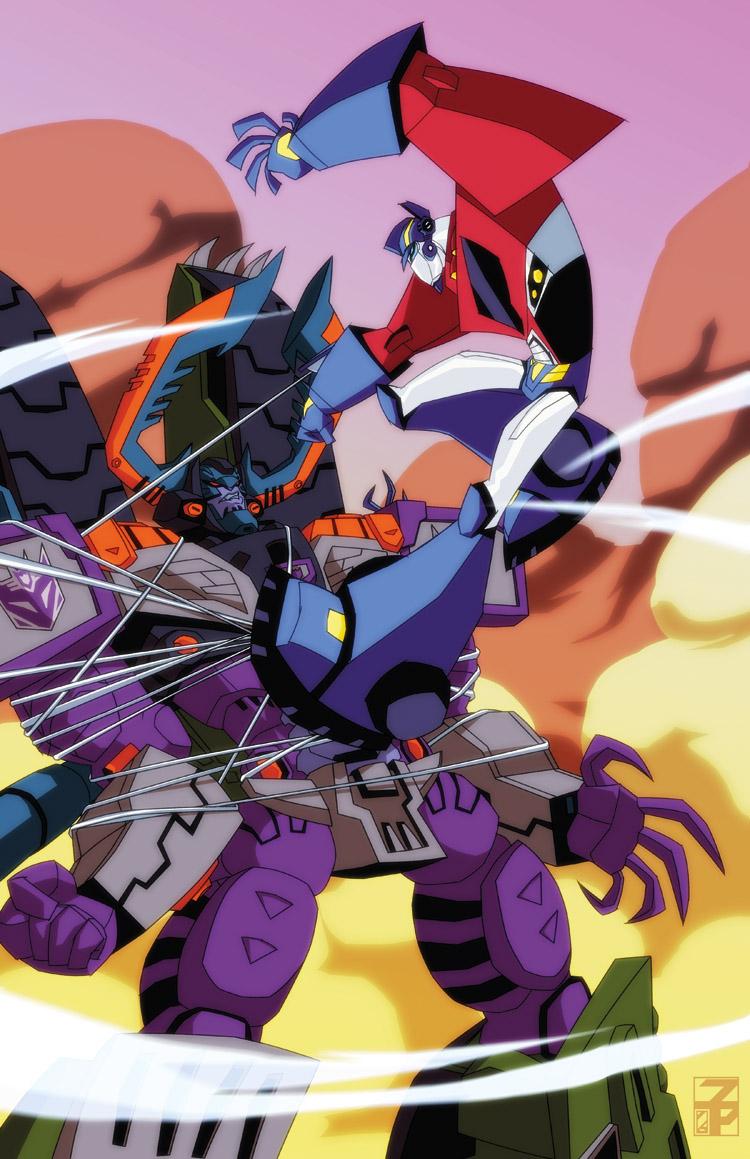 Tfa vs tfa by dyemooch on deviantart - Transformers cartoon optimus prime vs megatron ...