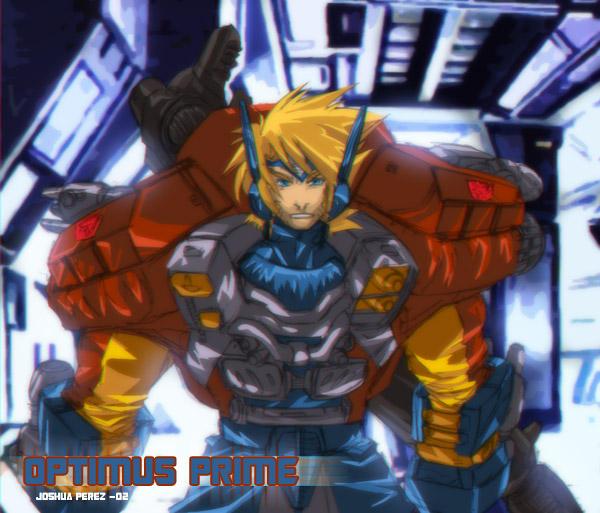 Optimus Prime Human Form by dyemooch on DeviantArt