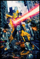 Bumblebee the Protector by EnvisageU