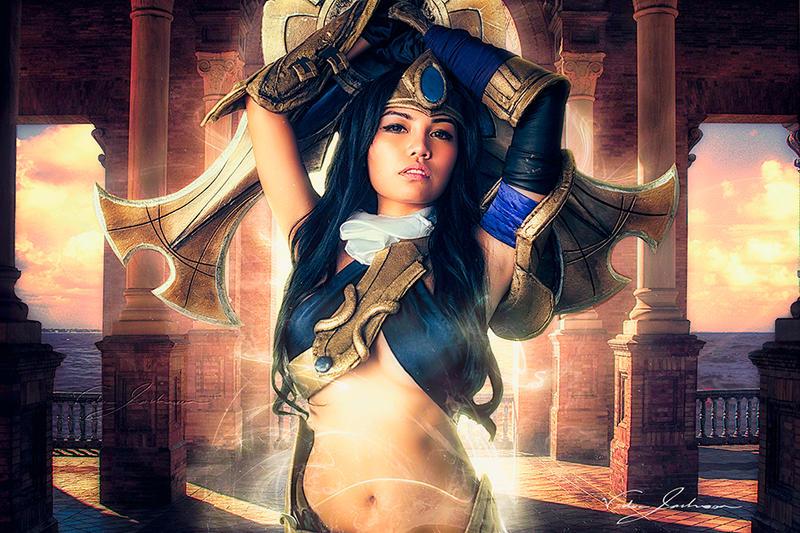 Mistress of Battle by EnvisageU