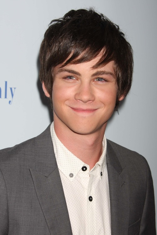 Logan Lerman by wolfcloudfantasy