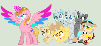 Mlp Collab   Defending My Loved Ones my part by anitalapony