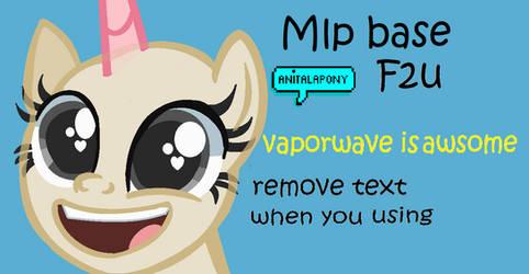 Mlp Base- vaporwave is awsome by Lunatheacefan22