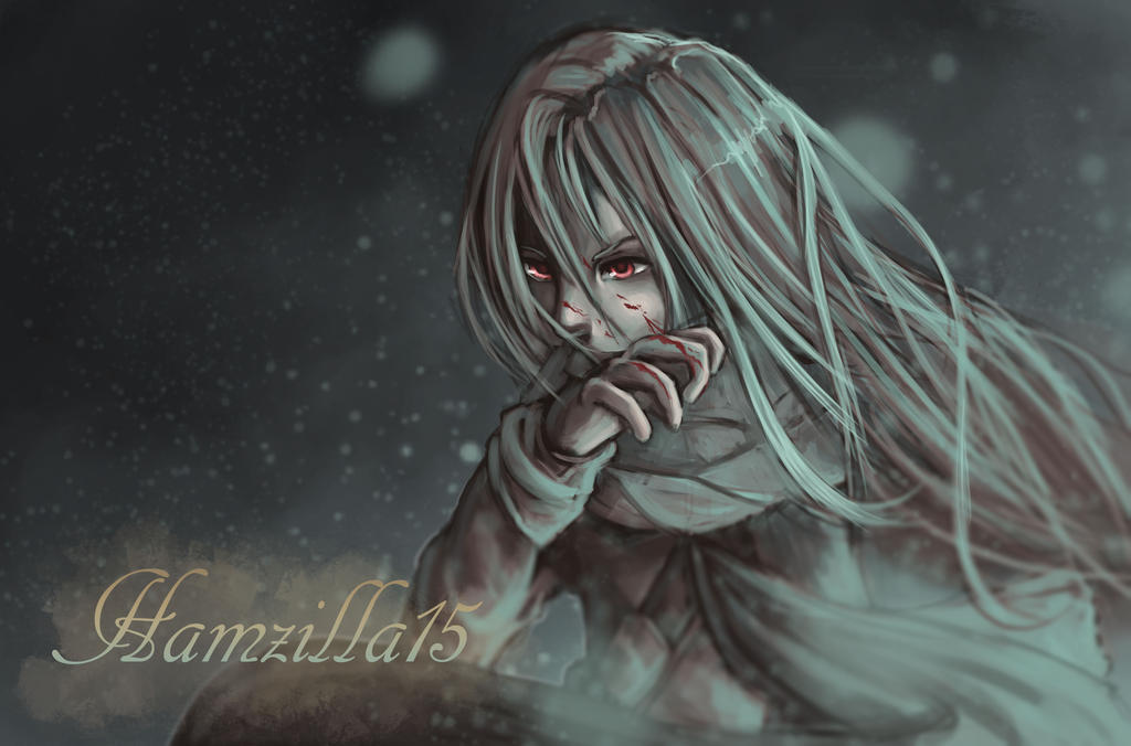Lonely cold vampire by Hamzilla15