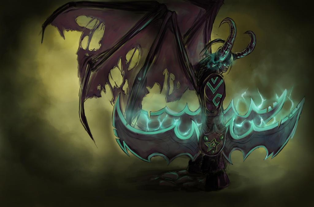 Illidan Stormrage by Hamzilla15