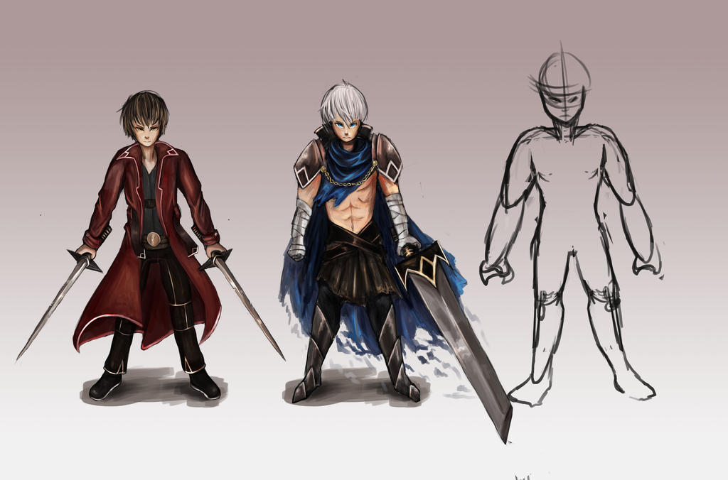 Character concept for anime progression by Hamzilla15