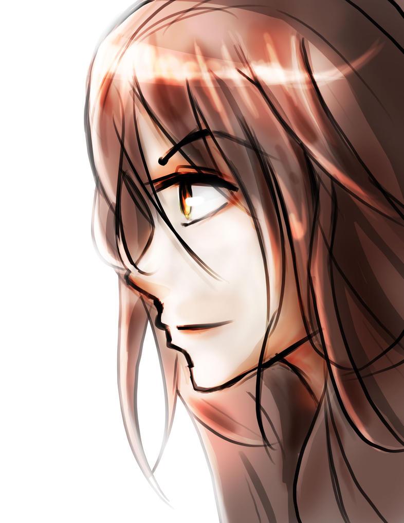 Random doodle anime girl by Hamzilla15