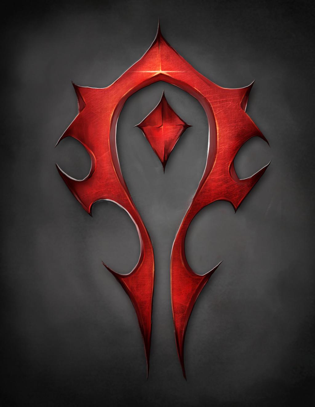 Horde Symbol Wow By Hamzilla15 On Deviantart