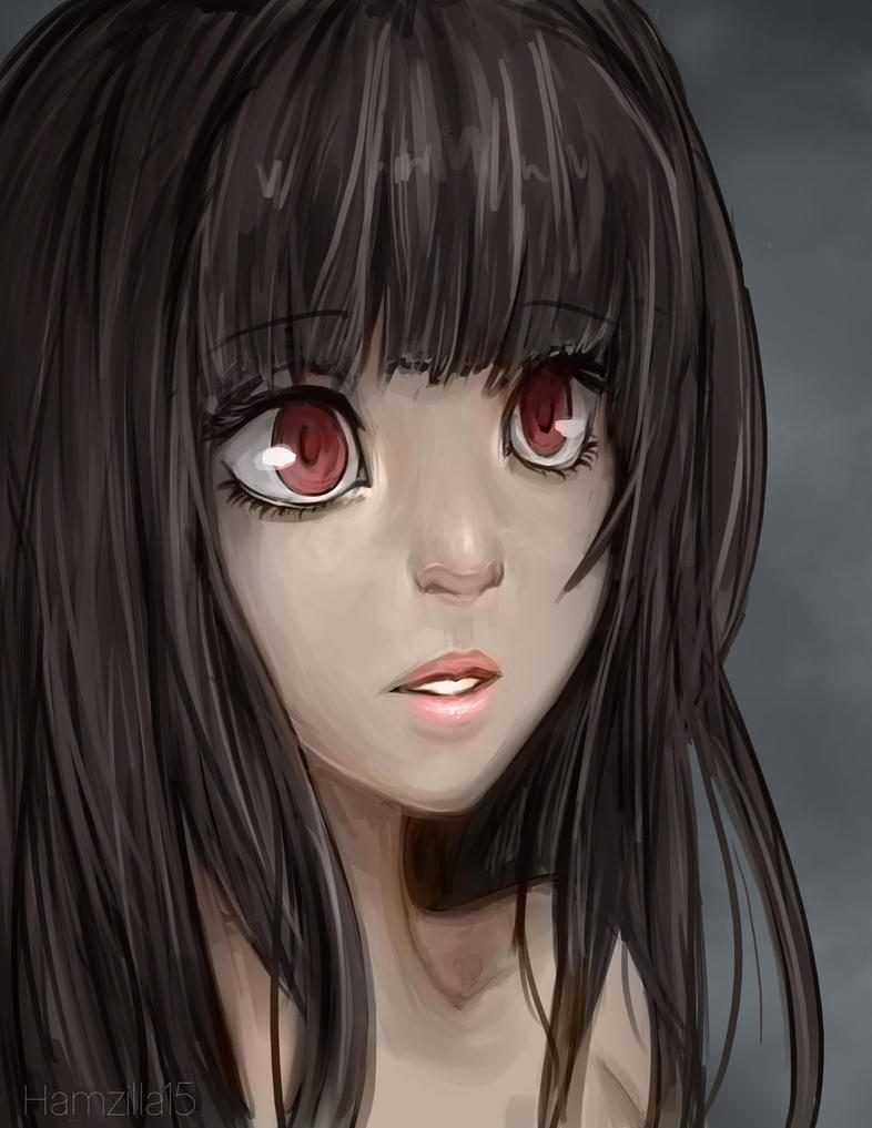Anime Characters Realistic : Semi realistic portrait of a girl by hamzilla on deviantart