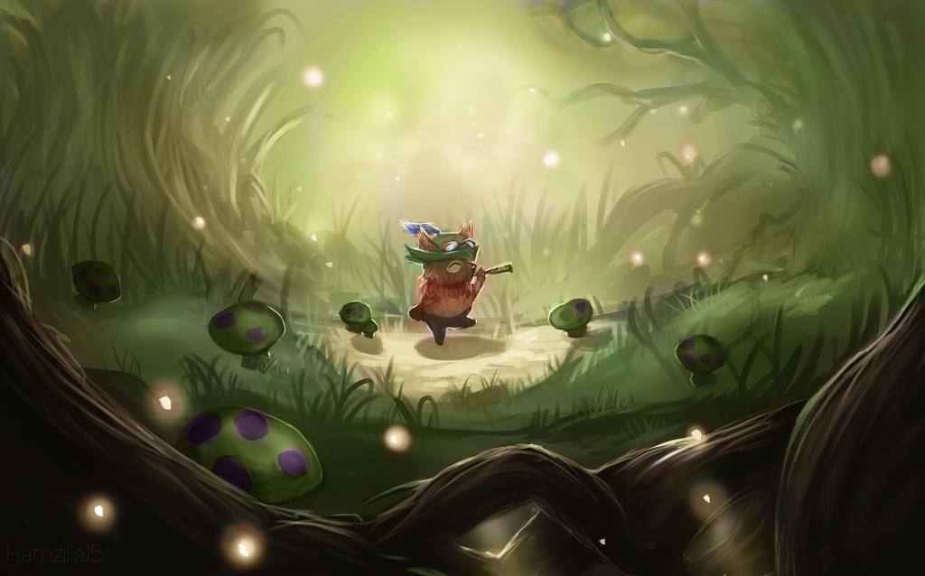 Teemo fan art from League of Legends by Hamzilla15 on ...