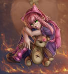 Annie and Tibbers fan art