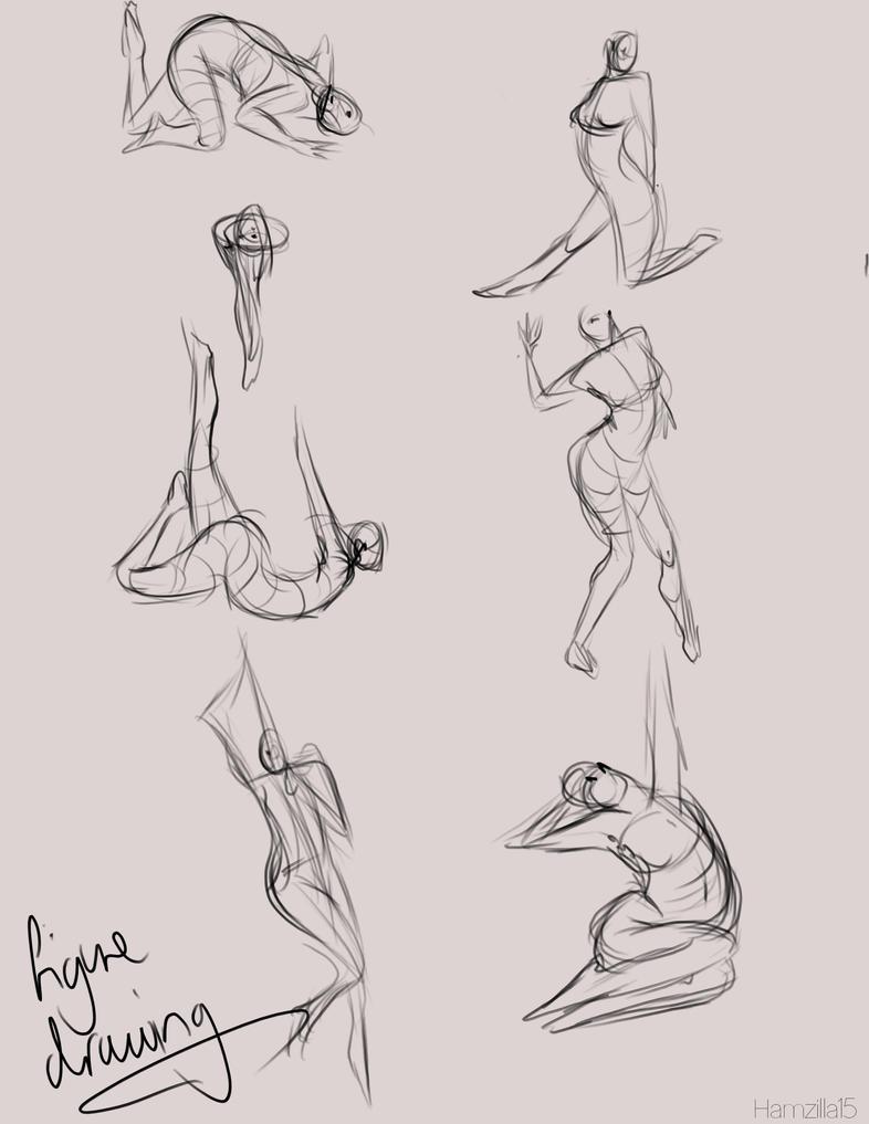 Figure drawing 1 by Hamzilla15