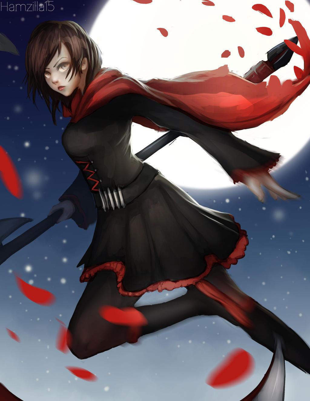 Ruby Rose vol.4 [By 紗倉シホ 通販始めました pixiv] : RWBY  |Ruby Red Fan Art