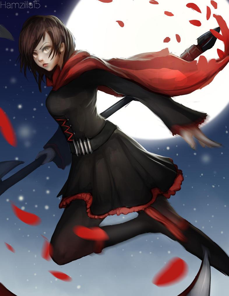 Ruby Rose fan art from RWBY by Hamzilla15